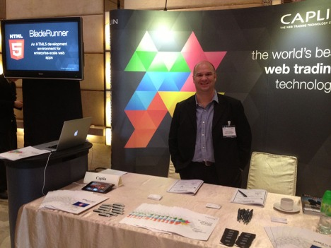 Caplin's Randy Hebert at Trading Architecture Asia
