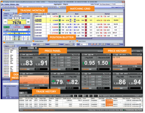 ThomsonReuters FX Trading new desktops
